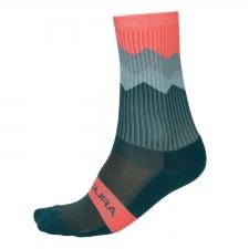 Endura Jagged Sock, Spruce Green
