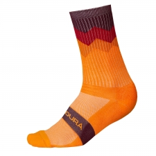 Endura Jagged Sock, Tangerine