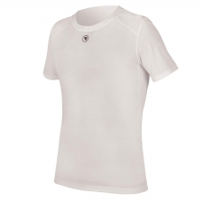 Endura Translite Short Sleeve Baselayer, White