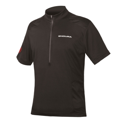 Endura Hummvee Short Sleeve Jersey, Black