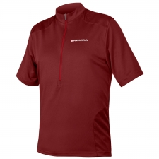 Endura Hummvee Short Sleeve Jersey, Cocoa
