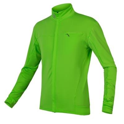 Endura Xtract Roubaix Long Sleeve Jersey, Hi-vis Green