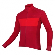 Endura FS260-Pro Jetstream L/S Jersey II, Rust Red