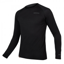 Endura BaaBaa Blend Long Sleeve Baselayer, Black