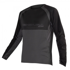 Endura MT500 Burner Long Sleeve Jersey II, Black