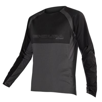 Endura MT500 Burner Long Sleeve Jersey II, Black
