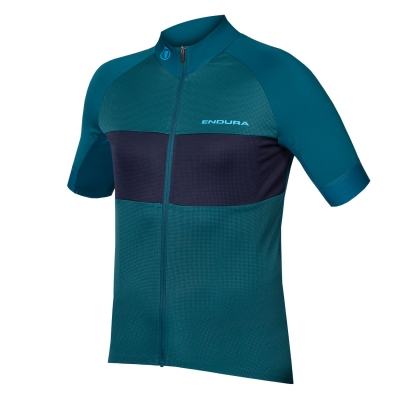Endura FS260-Pro Short Sleeve Jersey II (Relaxed Fit), Kingfisher Green