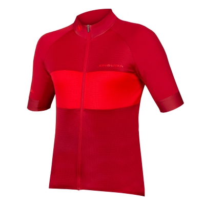 Endura FS260-Pro Short Sleeve Jersey II (Relaxed Fit), Rust Red