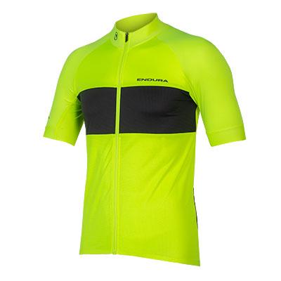 Endura FS260-Pro Short Sleeve Jersey II (Relaxed Fit), Hi-viz Yellow