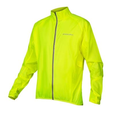 Endura Pakajak Ultra-packable Windproof Jacket, Hi-Viz Yellow