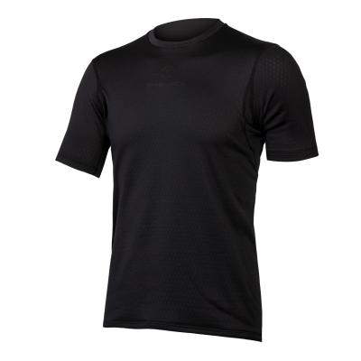 Endura Transloft Short Sleeve Baselayer, Black