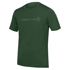 Endura SingleTrack Merino T, Forest Green