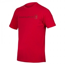 Endura SingleTrack Merino T, Rust Red