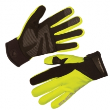 Endura Women's Strike II Glove, Hi-vis Yellow