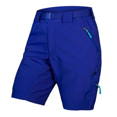 Endura Women's Hummvee II Baggy Shorts (with liner short), Cobalt Blue