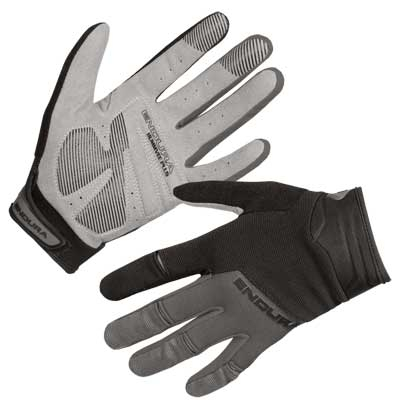 Endura Wms Hummvee Plus Bike Gloves II, Black