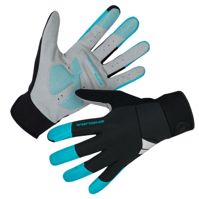Endura Womens Windchill Gloves, Pacific Blue