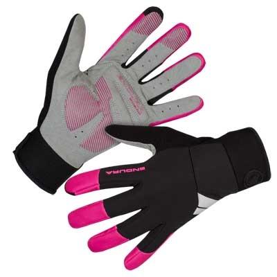 Endura Womens Windchill Gloves, Cerise