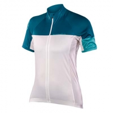 Endura Women's Hyperon Short Sleeve Jersey II, White