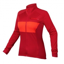 Endura Women's FS260-Pro Jetstream L/S Jersey II, Rust...