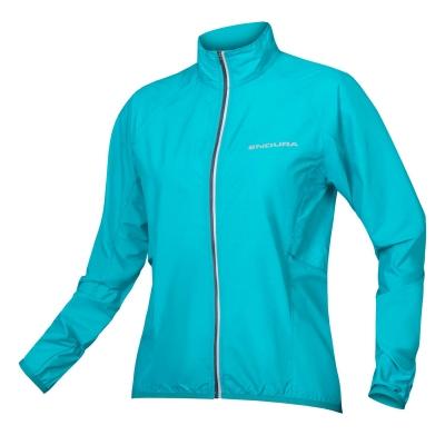 Endura Women's Pakajak Ultra-packable Windproof Jacket, Pacific Blue