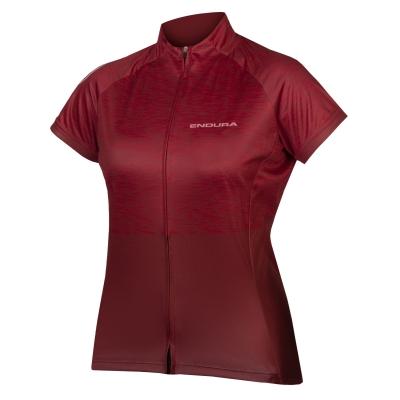 Endura Women's Hummvee Ray Short Sleeve Jersey II, Cocoa
