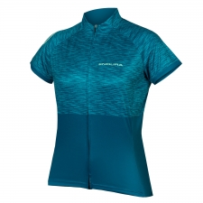 Endura Women's Hummvee Ray Short Sleeve Jersey II, Kin...