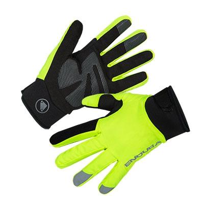 Endura Women's Strike Glove, Hi-Vis Yellow