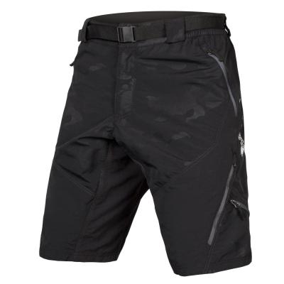 Endura Hummvee II Baggy Shorts (with liner short), Black Camo