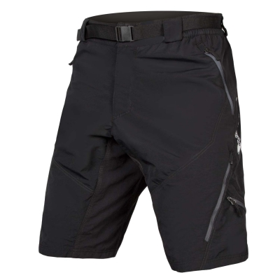 Endura Hummvee II Baggy Shorts (with liner short), Black