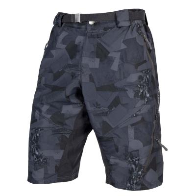 Endura Hummvee II Baggy Shorts (with liner short), Grey Camo