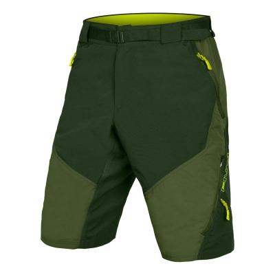 Endura Hummvee II Baggy Shorts (with liner short), Olive Green