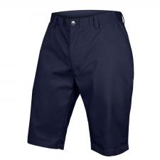 Endura Hummvee Chino Short with Liner Short, Navy