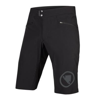 Endura Singletrack Lite Short, Short Fit, Black