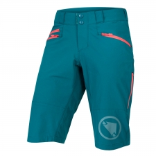 Endura Women's SingleTrack Shorts II, Spruce Green