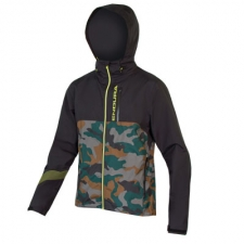 Endura SingleTrack Waterproof Jacket II, Camouflage