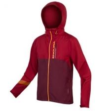 Endura Singletrack Waterproof Jacket II, Claret