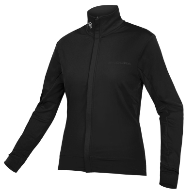 Endura Women's Xtract Roubaix Long Sleeve Jersey, Black