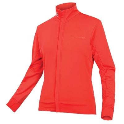 Endura Women's Xtract Roubaix Long Sleeve Jersey, Coral