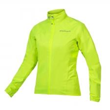 Endura Women's Xtract Waterproof Jacket, Hi-viz Yellow