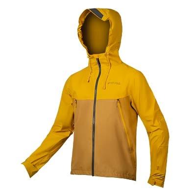 Endura MT500 Waterproof Jacket, Mustard