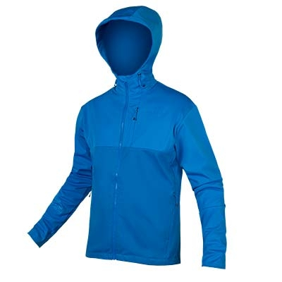 Endura SingleTrack Softshell Jacket II, Azure Blue