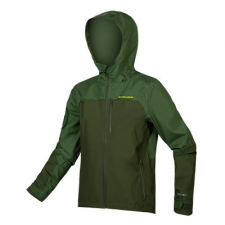 Endura SingleTrack Waterproof Jacket, Forest Green