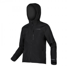 Endura SingleTrack Waterproof Jacket, Matt Black