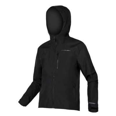 Endura SingleTrack Waterproof Jacket, Matt Black