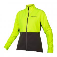 Endura Women's Windchill Jacket II, Hi-Vis Yellow
