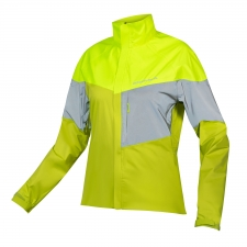 Endura Women's Urban Luminite II Jacket, Hi-Viz Yellow