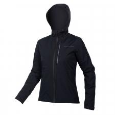 Endura Women's Hummvee Waterproof Hooded Jacket, Black