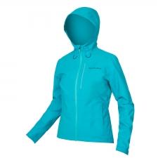 Endura Women's Hummvee Waterproof Hooded Jacket, Pacif...