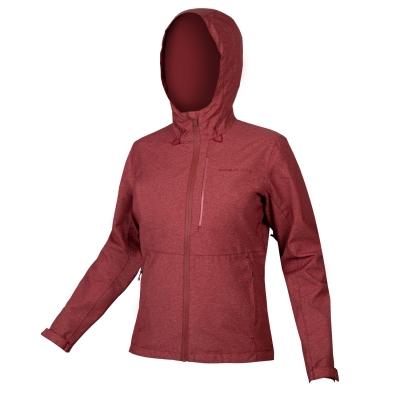 Endura Women's Hummvee Waterproof Hooded Jacket, Cocoa